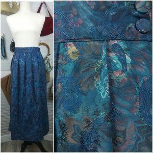 Worthington Vintage Paisley Skirt Cottagecore